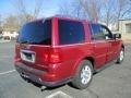 2005 Vivid Red Metallic Lincoln Navigator Luxury  photo #7