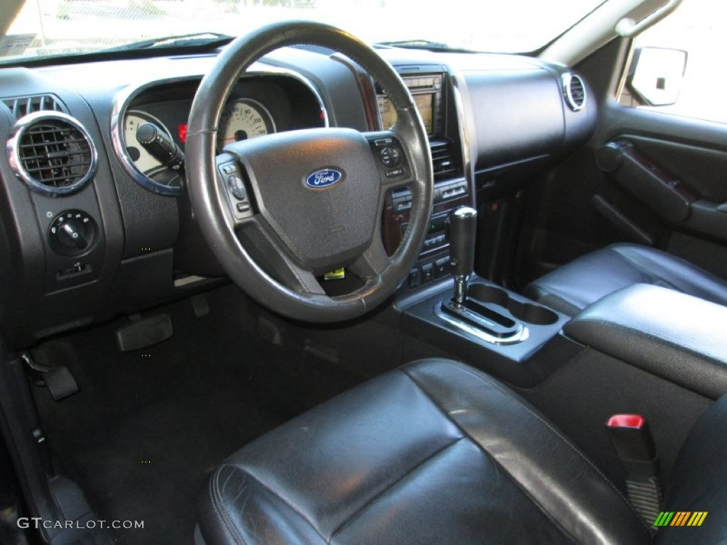 black interior 2006 ford explorer limited 4x4 photo