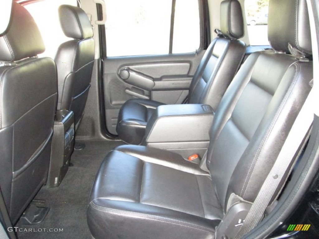 Black Interior 2006 Ford Explorer Limited 4x4 Photo 77502638