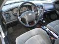 Black 2005 Hyundai Sonata Interiors