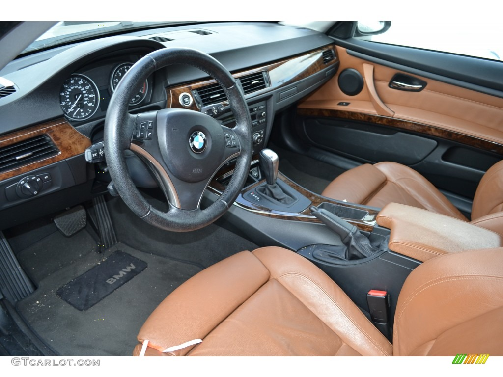 Saddle Brown/Black Interior 2007 BMW 3 Series 328i Coupe Photo #77505338 Nice Look