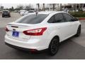 2012 White Platinum Tricoat Metallic Ford Focus Titanium Sedan  photo #8