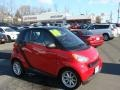 Rally Red 2010 Smart fortwo passion coupe