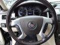 2007 Cadillac Escalade Cocoa/Light Cashmere Interior Steering Wheel Photo