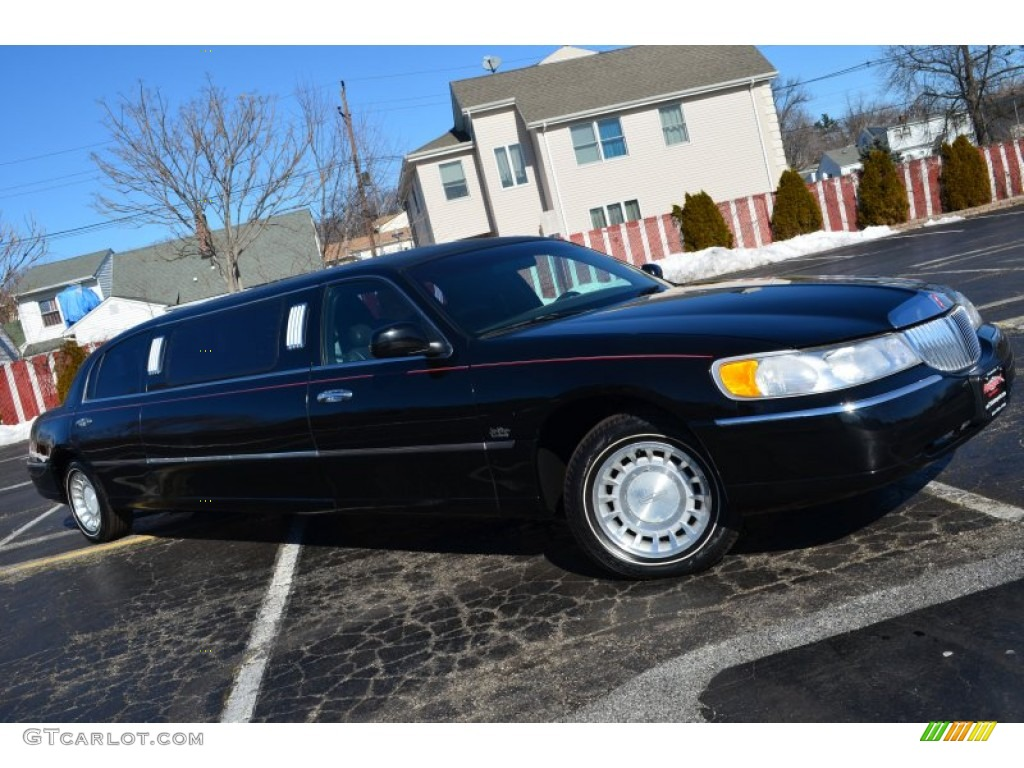 Lincoln Towncar 2017 >> 2000 Black Lincoln Town Car Executive Limousine #77474122 ...