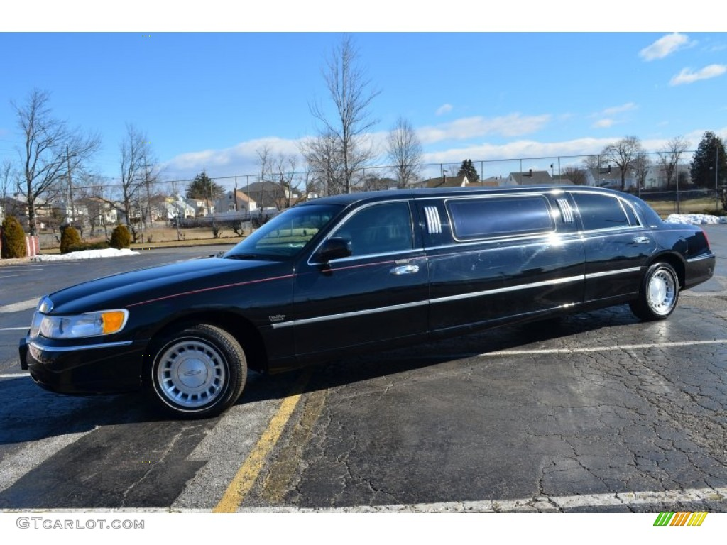 Black 2000 Lincoln Town Car Executive Limousine Exterior Photo 77510750 Gtcarlot Com