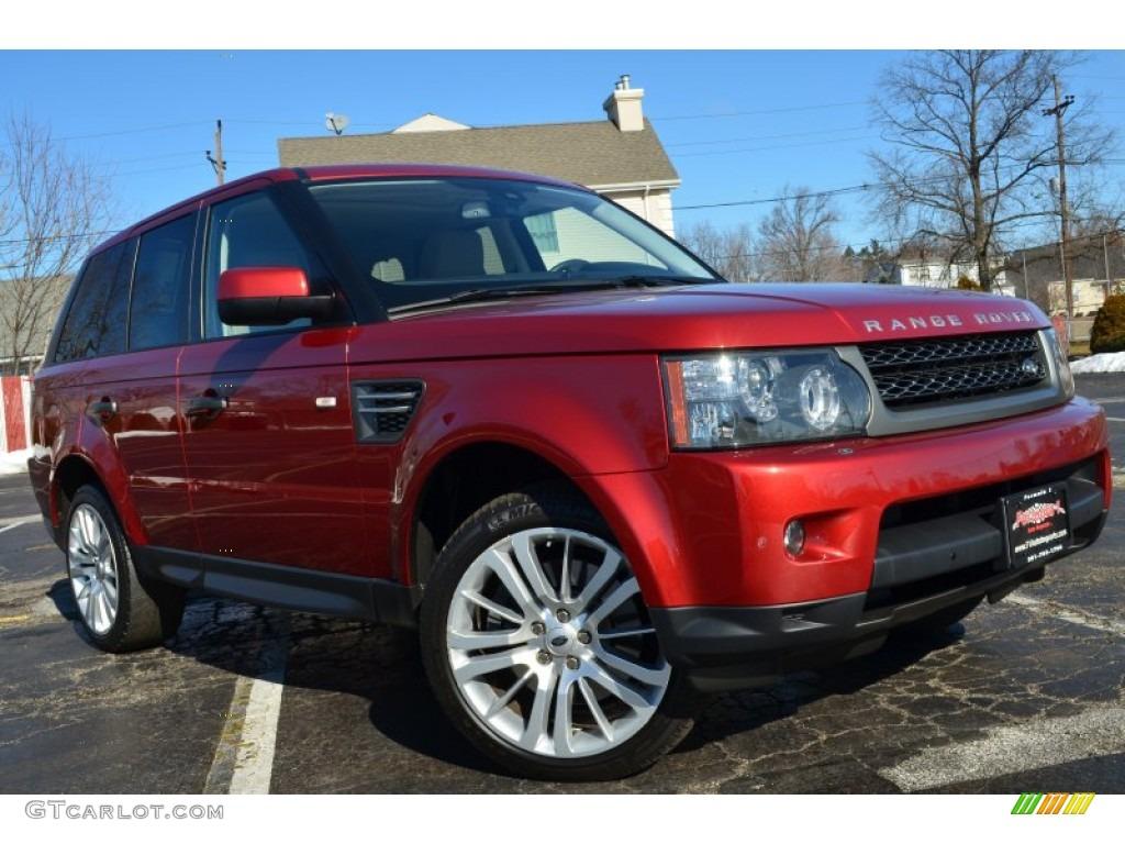 2010 rimini red land rover range rover sport hse 77474120. Black Bedroom Furniture Sets. Home Design Ideas