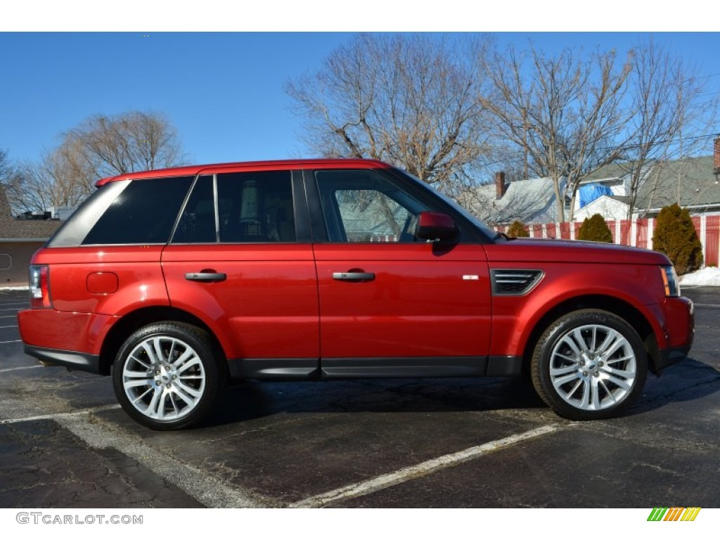 rimini red 2010 land rover range rover sport hse exterior. Black Bedroom Furniture Sets. Home Design Ideas