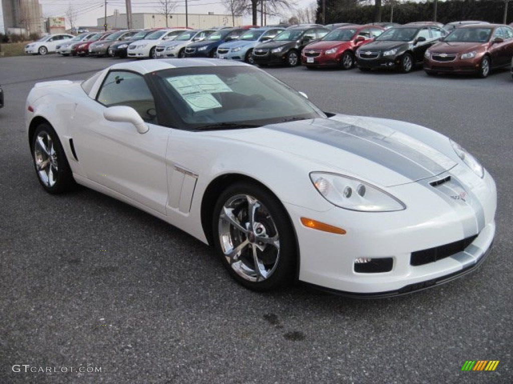 arctic white 2013 chevrolet corvette grand sport coupe. Black Bedroom Furniture Sets. Home Design Ideas