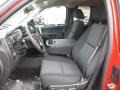 Ebony Front Seat Photo for 2013 Chevrolet Silverado 1500 #77523076