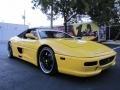 1997 Yellow Ferrari F355 Spider  photo #2