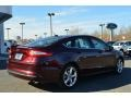 2013 Bordeaux Reserve Red Metallic Ford Fusion SE 1.6 EcoBoost  photo #3