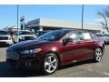 2013 Bordeaux Reserve Red Metallic Ford Fusion SE 1.6 EcoBoost  photo #6