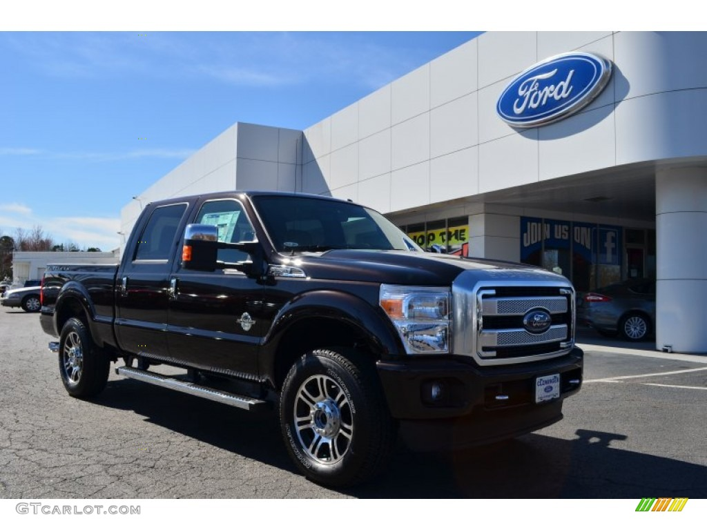 2013 Kodiak Brown Metallic Ford F250 Super Duty Platinum Crew Cab 4x4