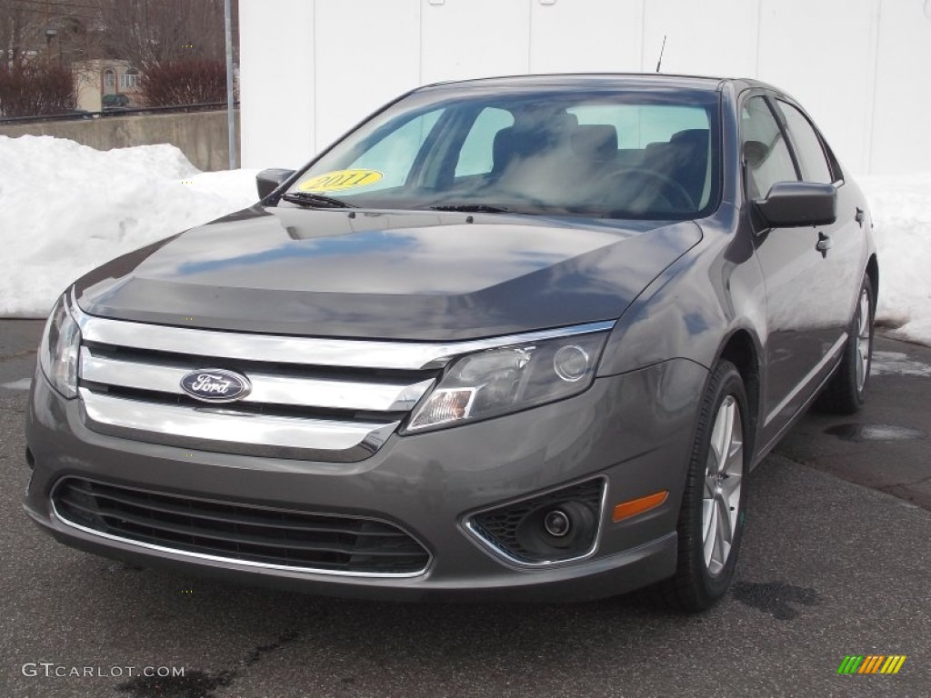 2011 sterling grey metallic ford fusion sel v6 77473776 car color galleries. Black Bedroom Furniture Sets. Home Design Ideas