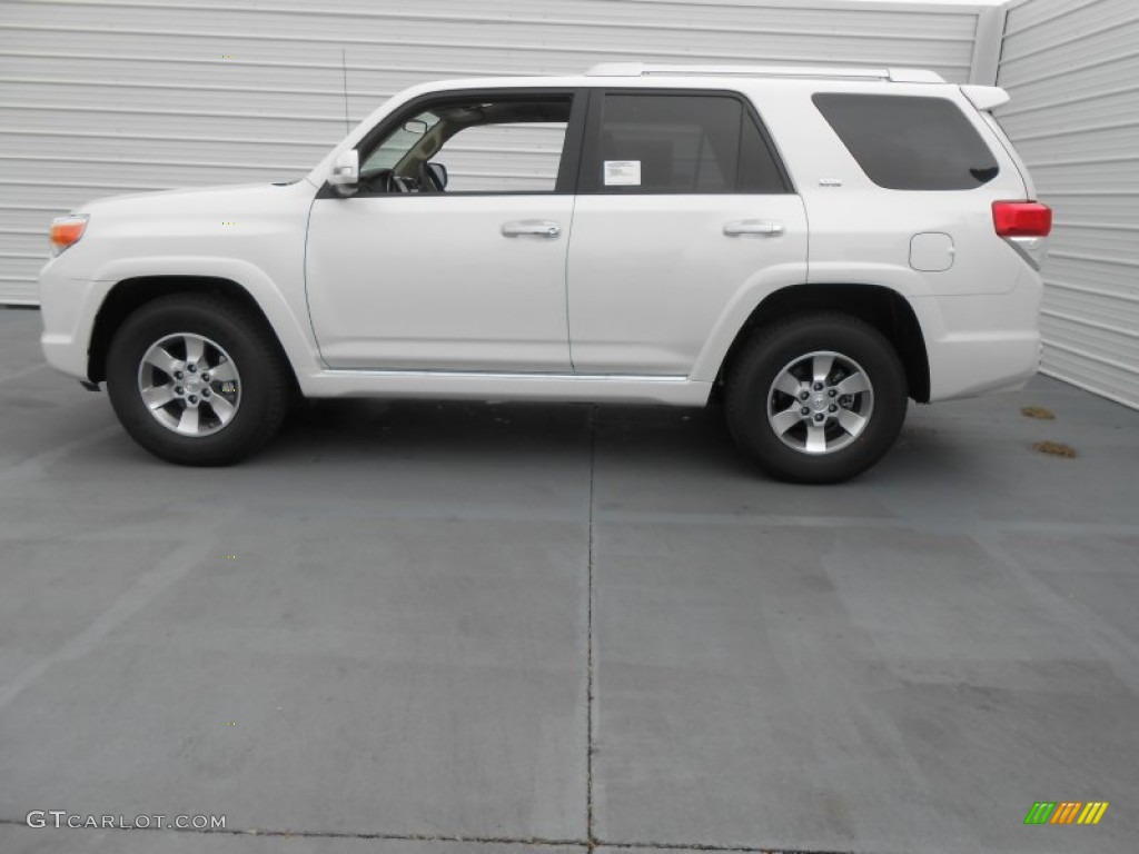 blizzard white pearl 2013 toyota 4runner sr5 exterior photo 77536079. Black Bedroom Furniture Sets. Home Design Ideas