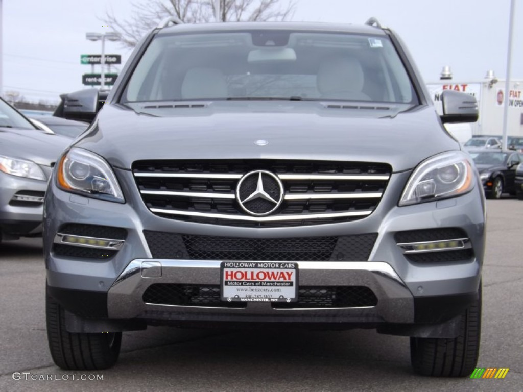 2013 palladium silver metallic mercedes benz ml 350 4matic for Mercedes benz 350 ml 2013