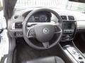 2013 Jaguar XK Warm Charcoal Interior Steering Wheel Photo