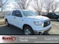 2013 Super White Toyota Tundra SR5 TRD Double Cab 4x4  photo #1