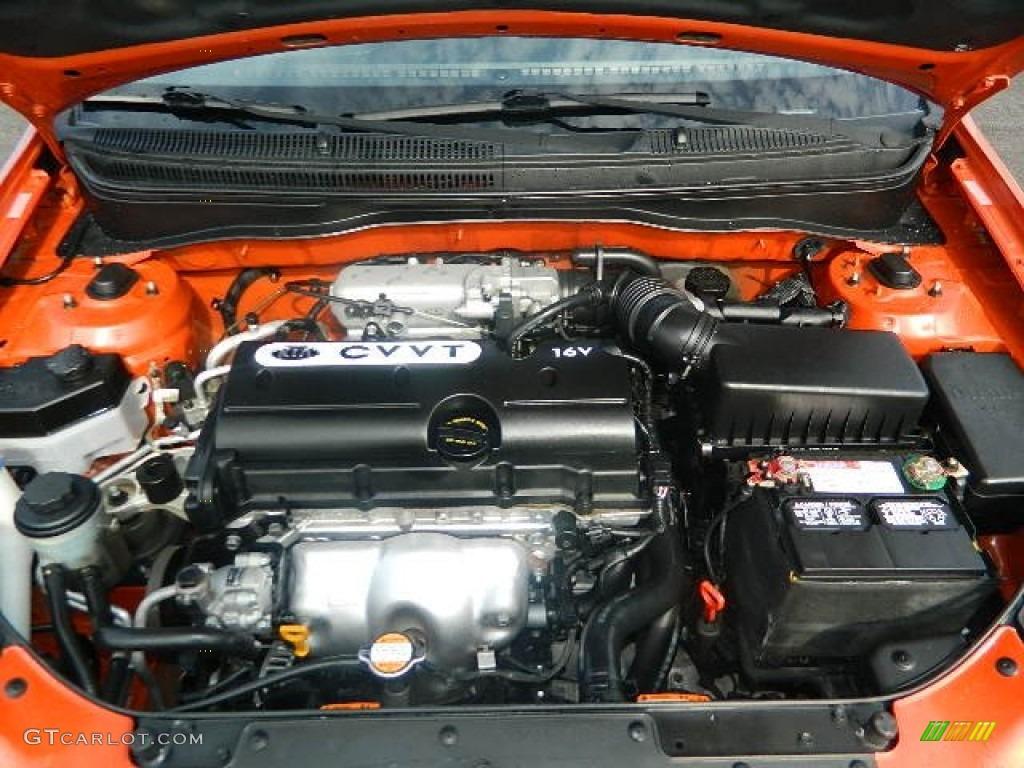 2009 Kia Rio Rio5 Lx Hatchback Engine Photos