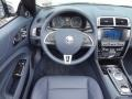 2013 Jaguar XK Portfolio Navy/Poltrona Frau Leather Headlining Interior Dashboard Photo