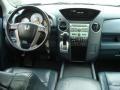 2009 Honda Pilot Blue Interior Dashboard Photo