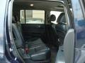 2009 Honda Pilot Blue Interior Rear Seat Photo