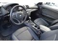 2010 BMW 1 Series Black Interior Prime Interior Photo