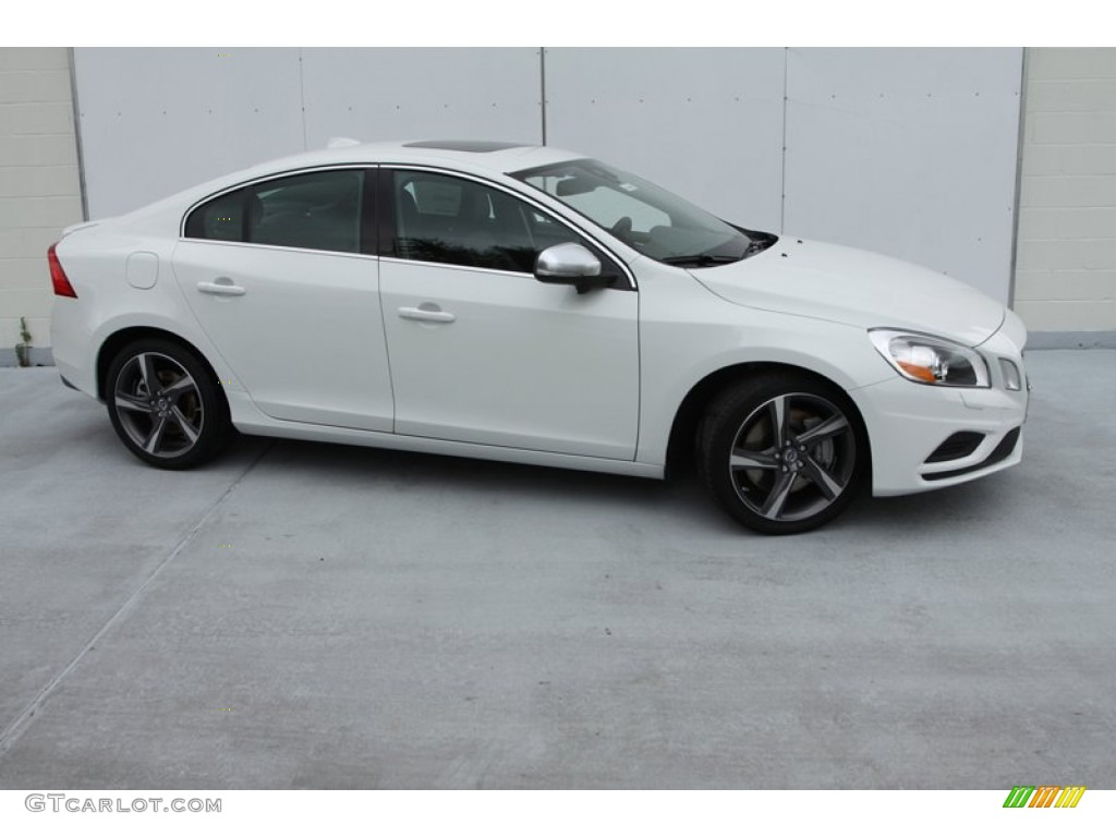 2013 ice white volvo s60 r design awd 77556114 car color galleries. Black Bedroom Furniture Sets. Home Design Ideas