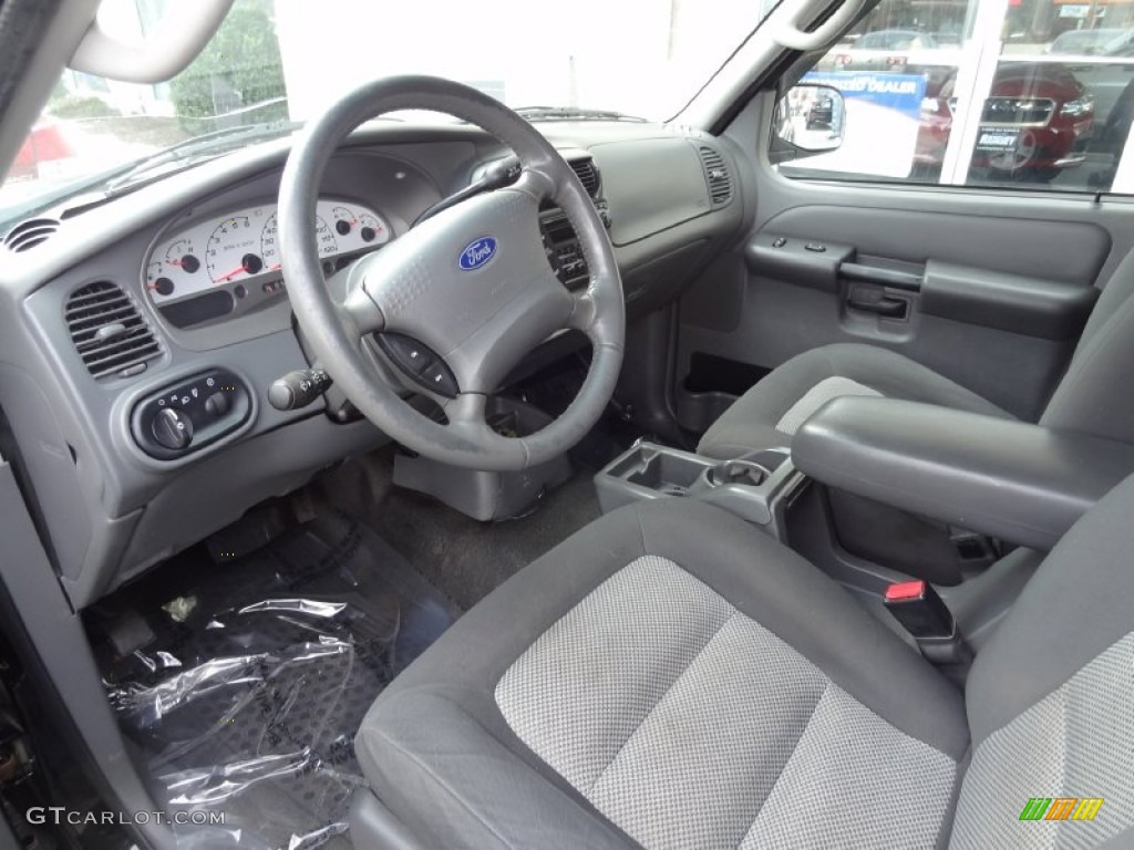 Medium Dark Flint Interior 2005 Ford Explorer Sport Trac Xlt 4x4 Photo 77582553