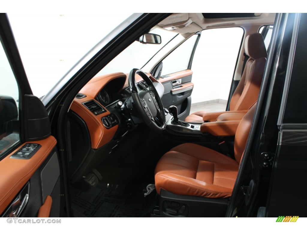 Tan Interior 2012 Land Rover Range Rover Sport Supercharged Photo