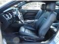 2012 Ford Mustang Charcoal Black/Carbon Black Interior Front Seat Photo