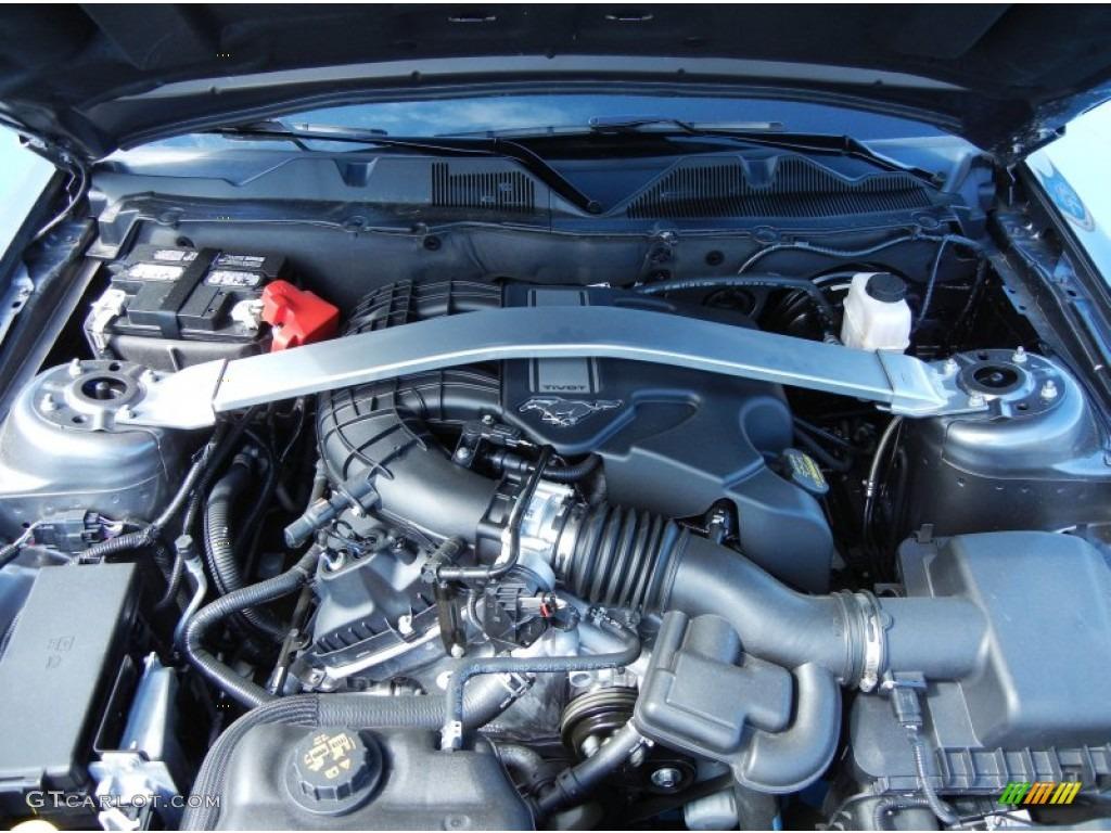 2013 ford mustang v6 premium coupe engine photos. Black Bedroom Furniture Sets. Home Design Ideas