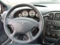 2003 Chrysler Voyager Navy Blue Interior Steering Wheel Photo