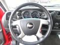 2009 Victory Red Chevrolet Silverado 1500 LT XFE Crew Cab  photo #11