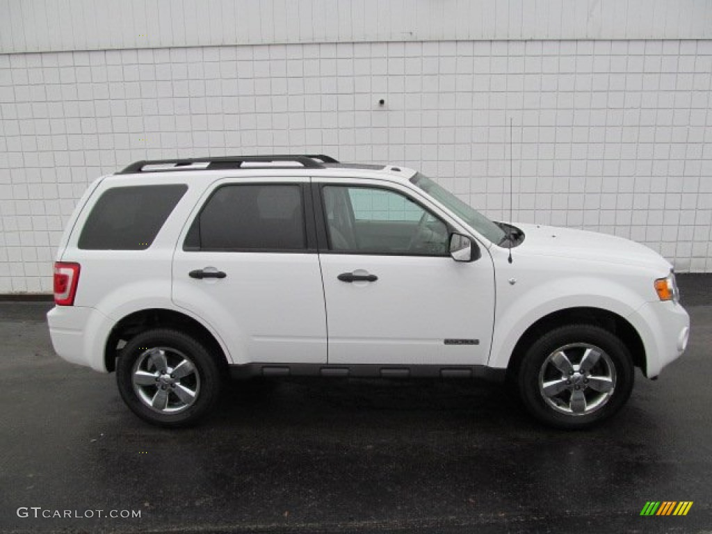 Oxford White 2008 Ford Escape Xlt V6 4wd Exterior Photo