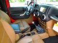2012 Flame Red Jeep Wrangler Rubicon 4X4  photo #20