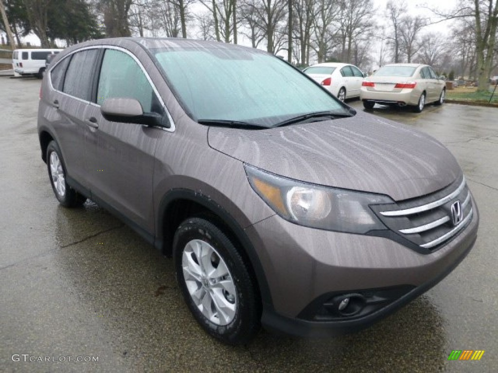 Urban Titanium Metallic 2013 Honda Cr V Ex Awd Exterior Photo 77607603