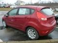 2013 Ruby Red Ford Fiesta SE Hatchback  photo #4