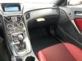 Red Leather/Red Cloth Dashboard Photo for 2013 Hyundai Genesis Coupe #77612223