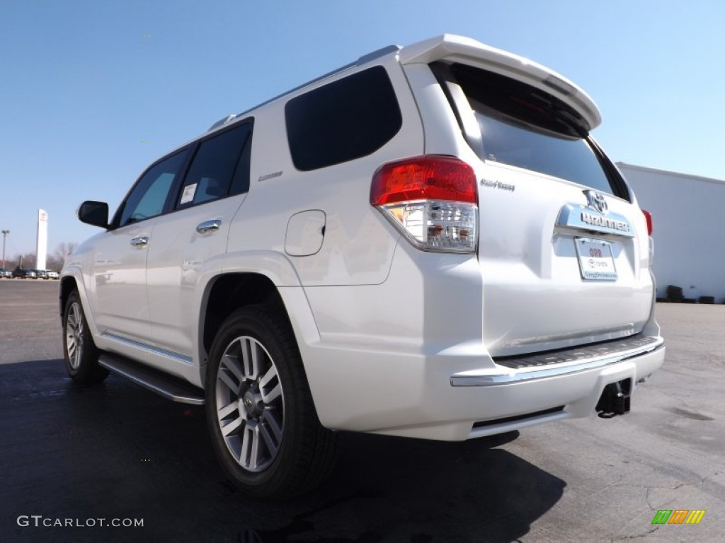 2013 blizzard white pearl toyota 4runner limited 77611305 photo 6 car color. Black Bedroom Furniture Sets. Home Design Ideas