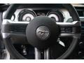 2010 Ford Mustang ROUSH Charcoal Black/Red Interior Steering Wheel Photo