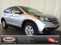 2013 Alabaster Silver Metallic Honda CR-V EX  photo #1