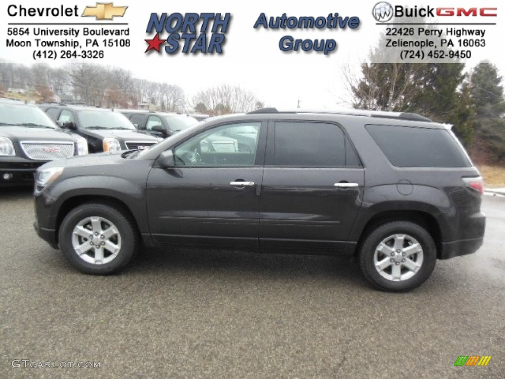 2013 Acadia SLE AWD - Iridium Metallic / Ebony photo #1