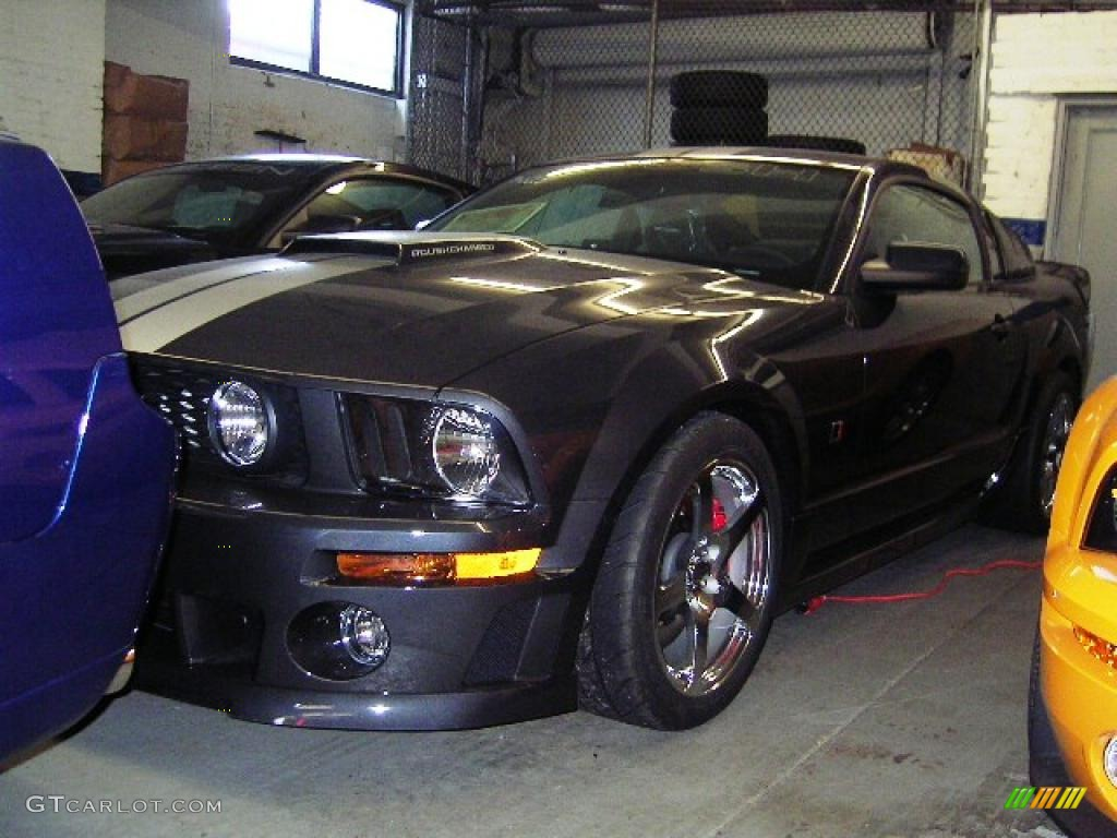 2007 Mustang ROUSH Stage 3 Coupe - Alloy Metallic / Dark Charcoal photo #1