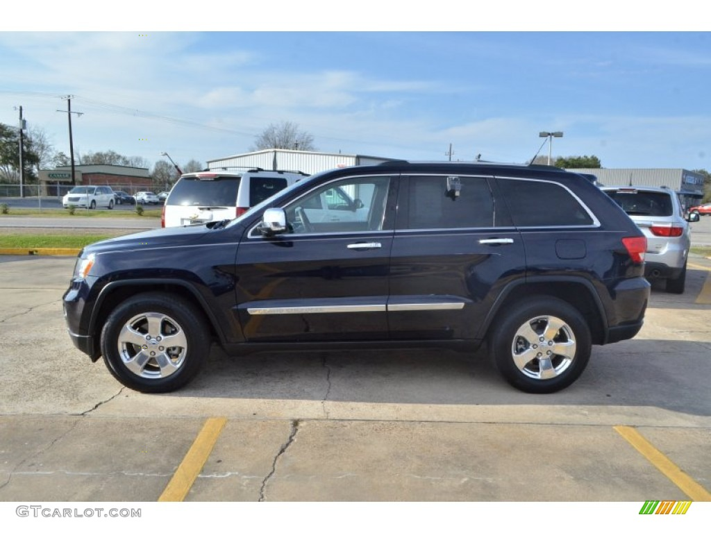 Blackberry Pearl 2011 Jeep Grand Cherokee Limited Exterior Photo 77640579