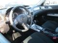 2010 Subaru Impreza Carbon Black Interior Prime Interior Photo