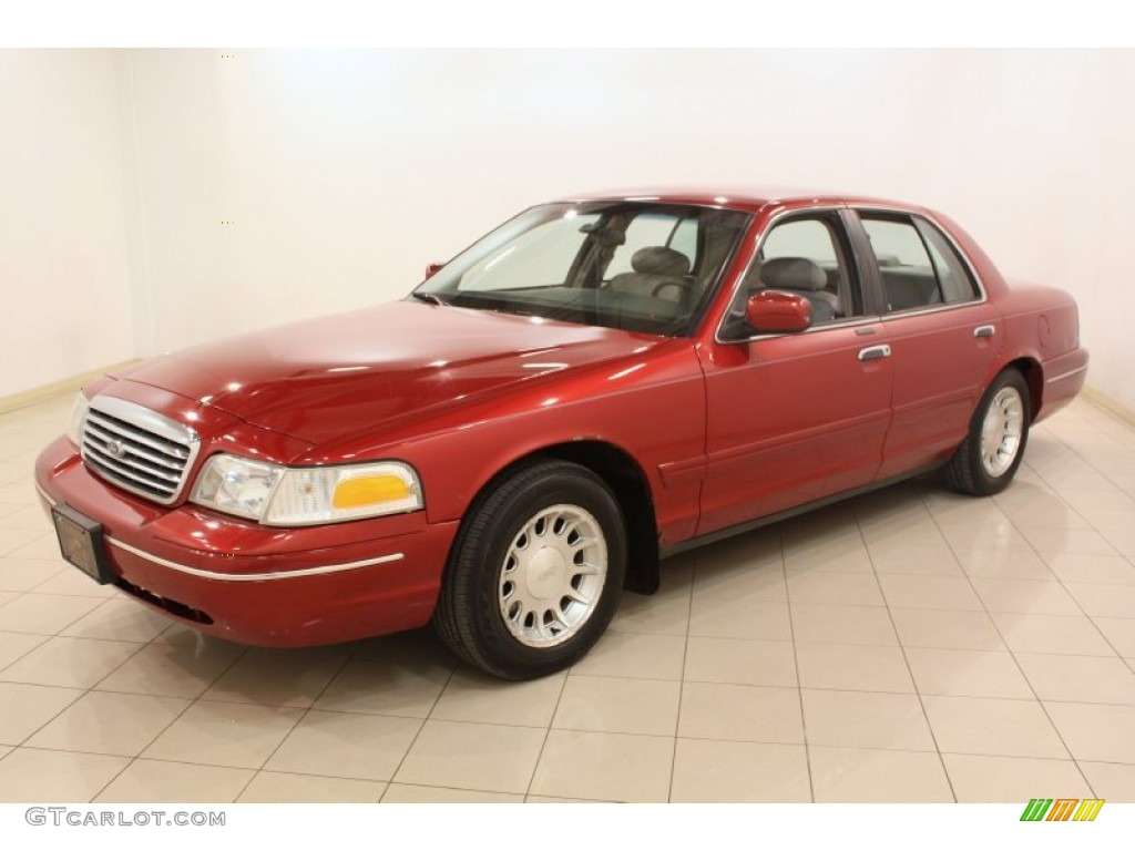 Toreador red metallic 1999 ford crown victoria lx exterior for Crown motors ford redding
