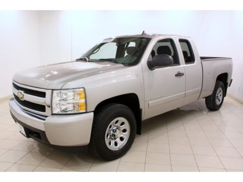 2008 Chevrolet Silverado 1500 Work Truck Extended Cab 4x4 Data, Info and Specs