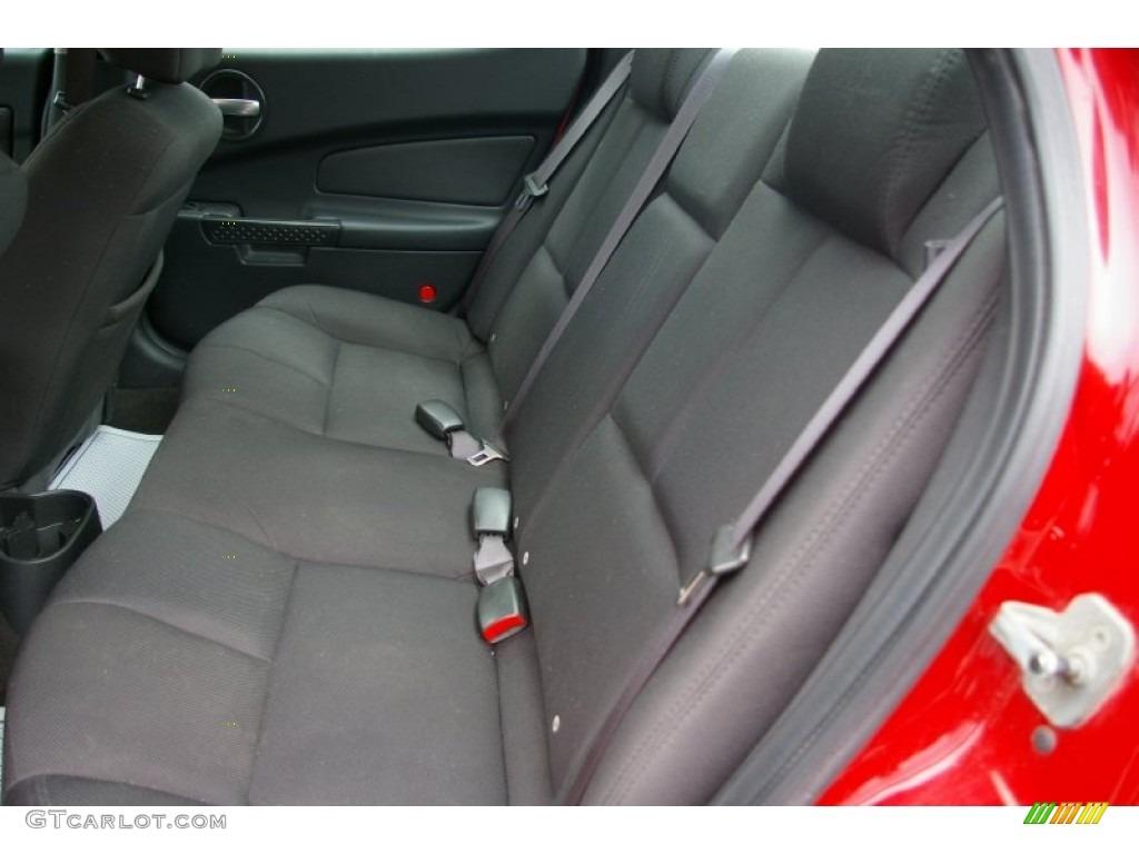 2007 Pontiac Grand Prix Sedan Rear Seat Photos Gtcarlot Com
